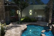 Modern Style House Plan - 3 Beds 3.5 Baths 2562 Sq/Ft Plan #120-169 Exterior - Outdoor Living