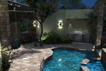 House Plan Design - Modern Exterior - Outdoor Living Plan #120-169
