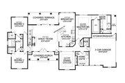Craftsman Style House Plan - 3 Beds 2.5 Baths 2234 Sq/Ft Plan #456-28 Floor Plan - Main Floor Plan
