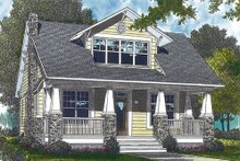 Craftsman Exterior - Front Elevation Plan #453-3