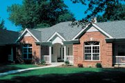 European Style House Plan - 3 Beds 2.5 Baths 2808 Sq/Ft Plan #57-179