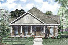 Dream House Plan - Traditional Exterior - Other Elevation Plan #17-2419
