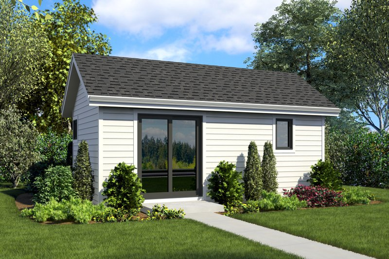 Dream House Plan - Contemporary Exterior - Front Elevation Plan #48-1024