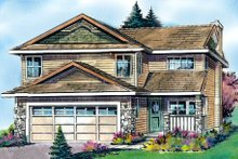 Dream House Plan - Traditional Exterior - Front Elevation Plan #427-7