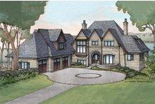 House Plan Design - European Exterior - Front Elevation Plan #928-3