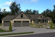 House Plan Design - Craftsman Exterior - Front Elevation Plan #1070-38