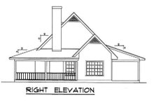 Country Exterior - Other Elevation Plan #40-103