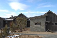 Architectural House Design - Ranch Exterior - Front Elevation Plan #895-117