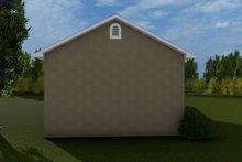 Dream House Plan - Victorian Exterior - Rear Elevation Plan #1060-77
