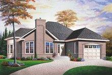 House Plan Design - Exterior - Front Elevation Plan #23-155