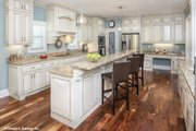 Craftsman Style House Plan - 4 Beds 3 Baths 2876 Sq/Ft Plan #929-30 Interior - Kitchen