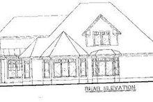 Farmhouse Exterior - Rear Elevation Plan #20-752