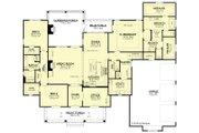 European Style House Plan - 3 Beds 2 Baths 2854 Sq/Ft Plan #430-192 Floor Plan - Main Floor Plan