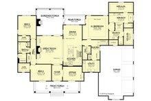 European Floor Plan - Main Floor Plan Plan #430-192