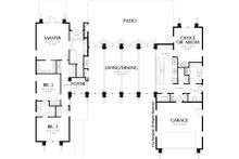 Modern Floor Plan - Main Floor Plan Plan #48-476