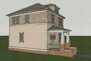 Craftsman Style House Plan - 3 Beds 2.5 Baths 1352 Sq/Ft Plan #461-5