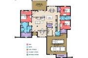 European Style House Plan - 3 Beds 3.5 Baths 2091 Sq/Ft Plan #63-348