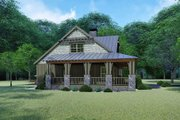 Craftsman Style House Plan - 3 Beds 2 Baths 1905 Sq/Ft Plan #923-141 Exterior - Other Elevation