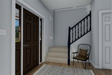 Dream House Plan - Traditional Interior - Entry Plan #1060-32