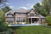 Craftsman Style House Plan - 4 Beds 4.5 Baths 4997 Sq/Ft Plan #48-973