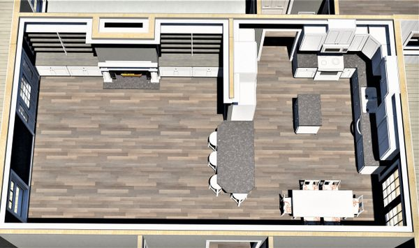 Traditional Floor Plan - Other Floor Plan Plan #44-236