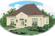 European Style House Plan - 3 Beds 2 Baths 2611 Sq/Ft Plan #81-1271 Exterior - Front Elevation