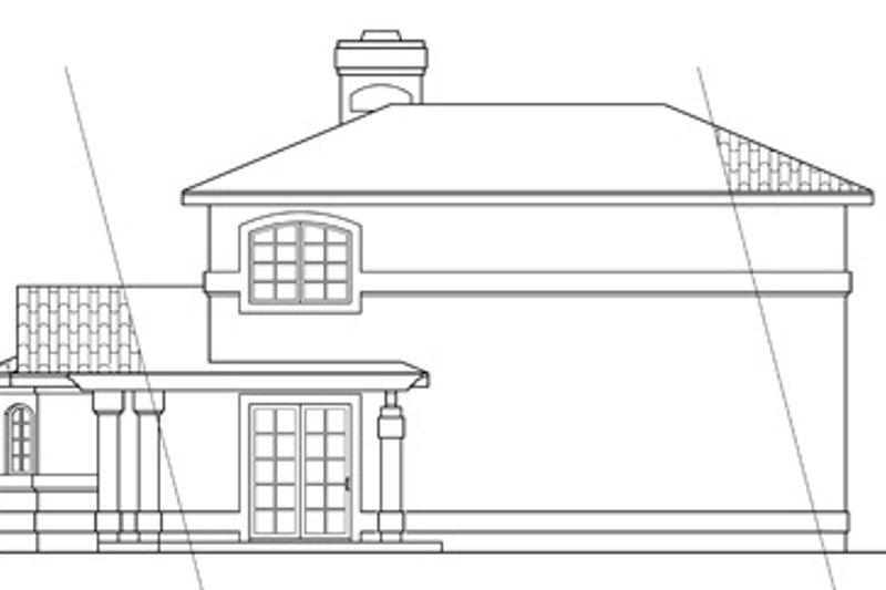 Exterior - Rear Elevation Plan #124-236 - Houseplans.com