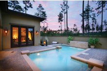 Architectural House Design - Mediterranean Exterior - Outdoor Living Plan #930-22