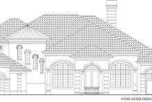 House Design - Mediterranean Exterior - Front Elevation Plan #930-442