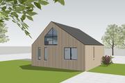 European Style House Plan - 3 Beds 2 Baths 1426 Sq/Ft Plan #542-13
