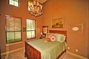 Prairie Style House Plan - 4 Beds 4 Baths 4166 Sq/Ft Plan #80-211 Interior - Bedroom