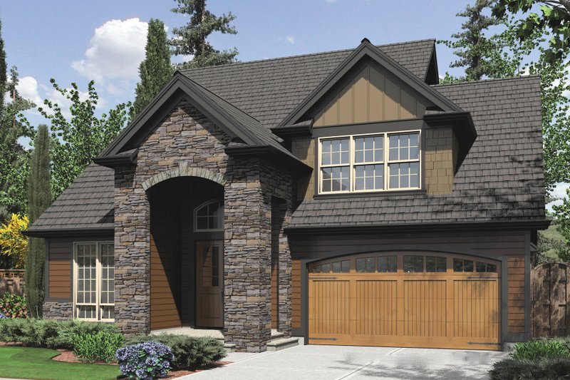 Dream House Plan - Traditional Exterior - Front Elevation Plan #48-554