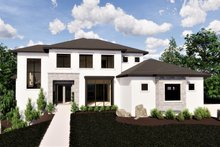 House Plan Design - Contemporary Exterior - Front Elevation Plan #920-72
