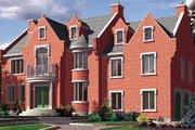 European Style House Plan - 4 Beds 2.5 Baths 2761 Sq/Ft Plan #138-294
