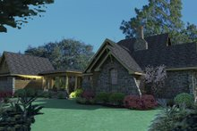 Home Plan - Craftsman Exterior - Other Elevation Plan #120-167