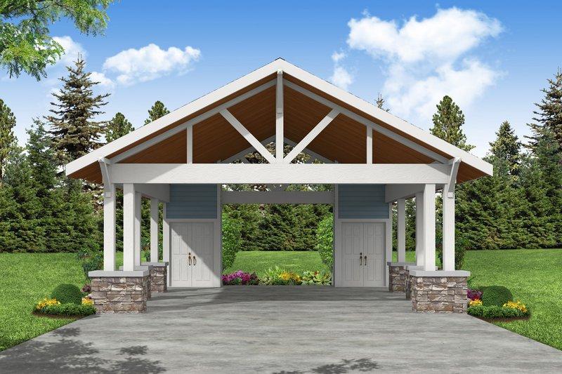 Dream House Plan - Craftsman Exterior - Front Elevation Plan #124-1226