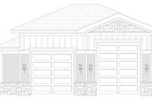 Dream House Plan - Craftsman Exterior - Front Elevation Plan #932-377