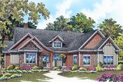 Craftsman Style House Plan - 3 Beds 2 Baths 1912 Sq/Ft Plan #929-998 Exterior - Front Elevation