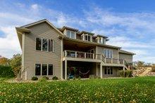 House Plan Design - Craftsman Exterior - Rear Elevation Plan #70-1470