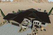 Adobe / Southwestern Style House Plan - 3 Beds 3 Baths 2982 Sq/Ft Plan #1069-16
