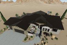 Adobe / Southwestern Exterior - Other Elevation Plan #1069-16