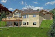 Modern Exterior - Front Elevation Plan #117-531