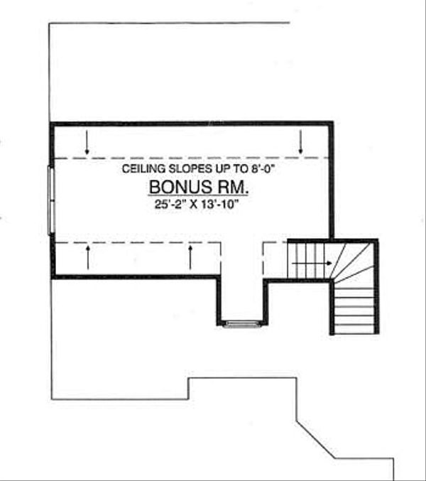 Ranch Floor Plan - Other Floor Plan Plan #40-132
