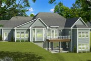 Ranch Style House Plan - 3 Beds 2.5 Baths 2333 Sq/Ft Plan #1010-195 Exterior - Rear Elevation