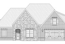 Country Exterior - Front Elevation Plan #932-272