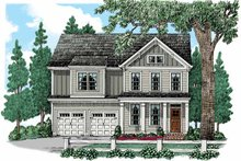 Country Exterior - Front Elevation Plan #927-941