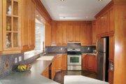 Mediterranean Style House Plan - 3 Beds 2.5 Baths 3002 Sq/Ft Plan #23-2343 Interior - Kitchen