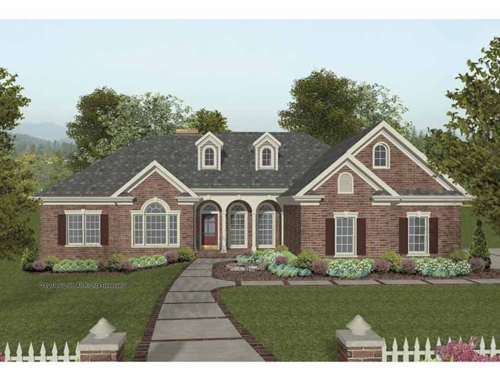 Traditional style house plan 4 beds 2 5 baths 2000 sq ft for Sip house plans craftsman