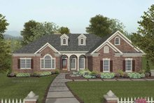 Dream House Plan - Traditional Exterior - Front Elevation Plan #56-686