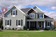 Home Plan - Country Exterior - Front Elevation Plan #927-642